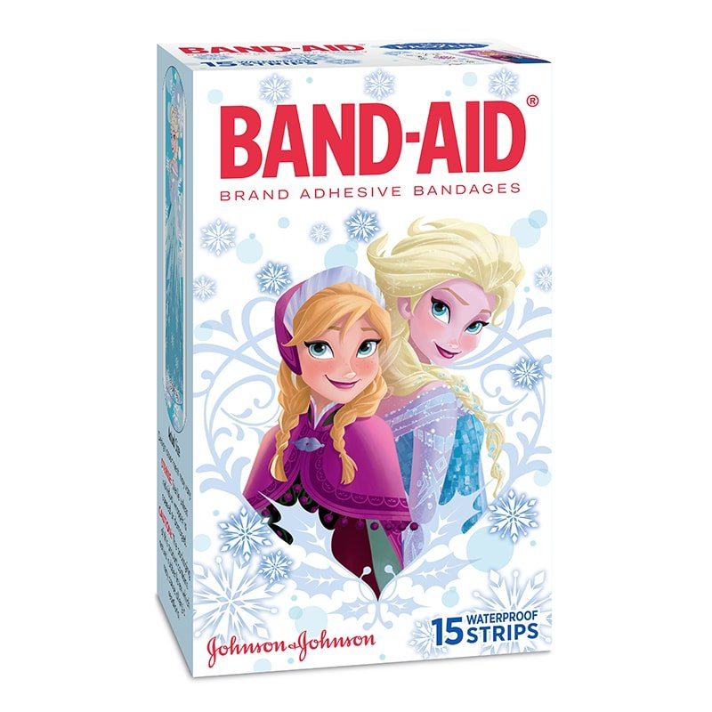 Character Strips Frozen 15 S Band Aid 174 Brand Adhesive