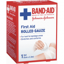 First Aid Gauze Rolled 2.3m