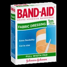 Fabric Dressing Full Width Pad 1m x 6cm