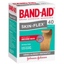 Band Aid Skin-Flex Regular 40s