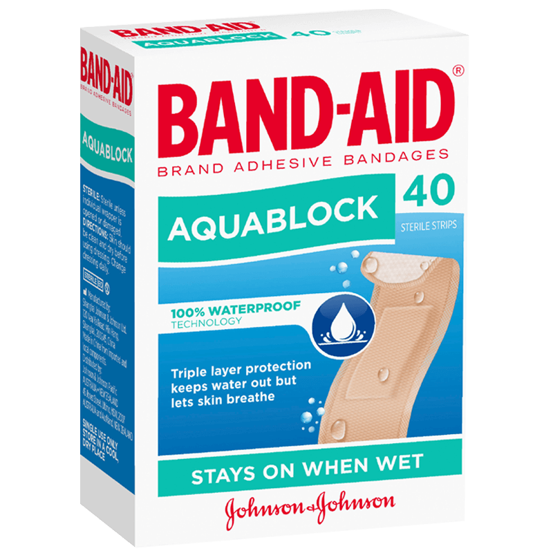 Band-Aid Aquablock Regular 40s